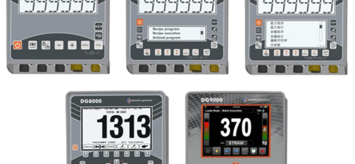 New range of Agriculture Weighing Indicators from Dinamica Generale