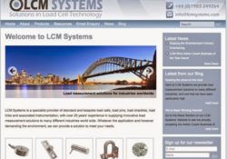 Load Cell Manufacturer LCM Systems Launches New Global Website