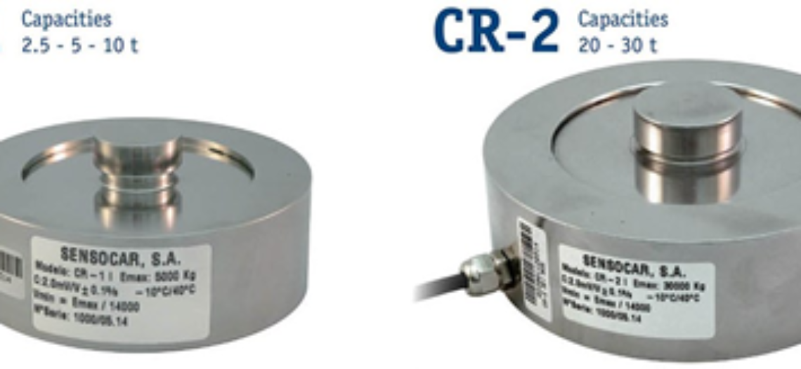 Sensocar presents a New Low Profile Compression Load Cell family