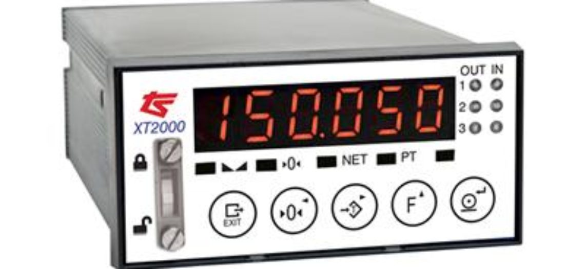 Golden lotus-Thames Side launches the Panel Mounted XT2000 Indicator and High Speed Weight Transmitter