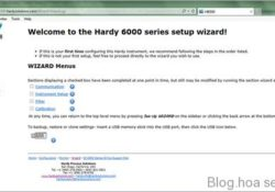 Golden lotus-Hardy introduced a Set-Up Wizard with its Weight Processors