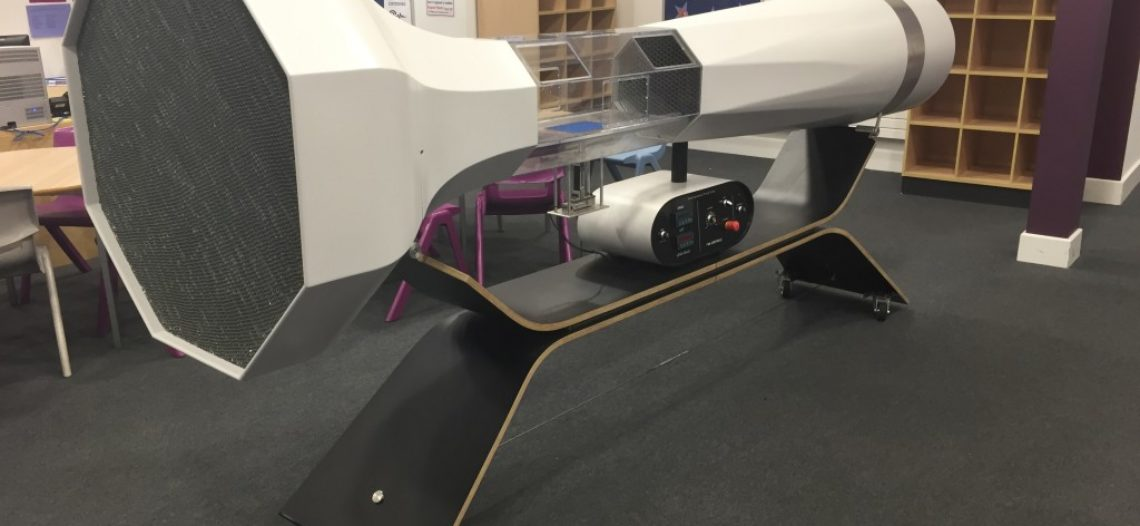 Golden lotus-Improve Aerodynamics with Applied Measurements' Single Point Load Cells and Digital Indicators