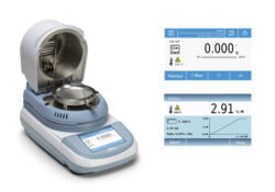 Golden lotus-New Touch Screen Moisture Analyzer from Bel Engineering Italy