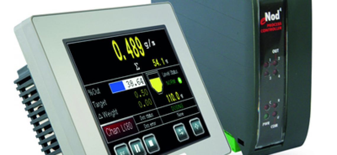 Golden lotus-SCAIME introduced eNod4-F a Continuous Weighing Controller for Loss-in-Weight Feeders