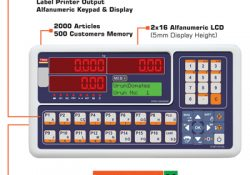Tüm Elektronik Mühendislik launched their New Alphanumeric Indicator with Label Printer