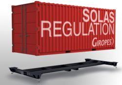 Giropès' New Solution to Weigh Containers reported to SOLAS age limit
