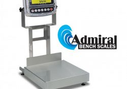 Cardinal's New Admiral IP69K-Rated Washdown Bench Scales