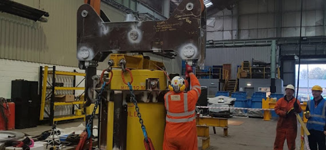 Rope and Sling Provides Below-the-Hook Equipment for Nuclear Site