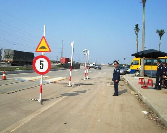Trạm kiểm tra tải trong xe lưu động tỉnh Thanh Hóa, nơi xảy ra sự việc