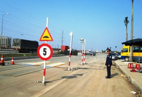 Trạm cân tải trọng ở Thanh Hóa đã bị lái xe cố tình phá hoại 2 lần trước đó