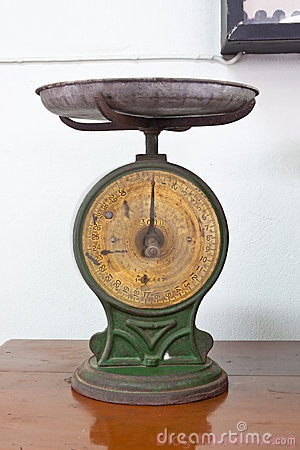 Can-nha-bep-de-ban-old-postage-scales-2