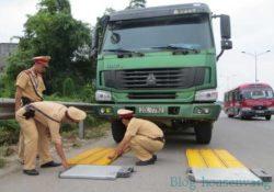 Phương pháp kiểm tra và cân xe tải