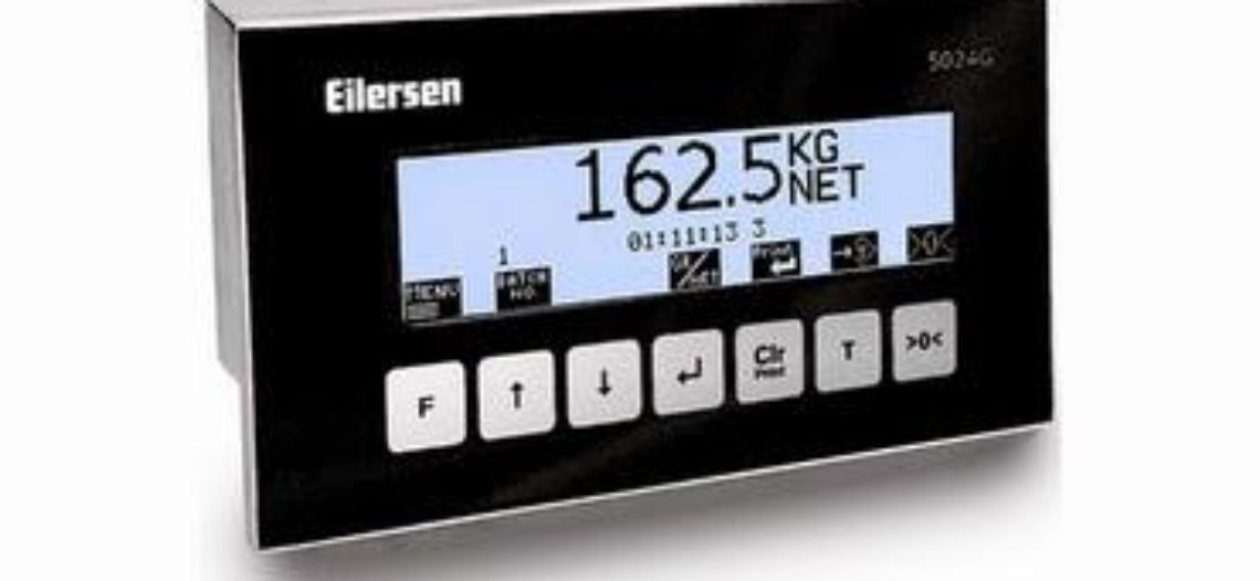 Golden lotus-Eilersen 5024G Weighing Terminal now OIML Certified