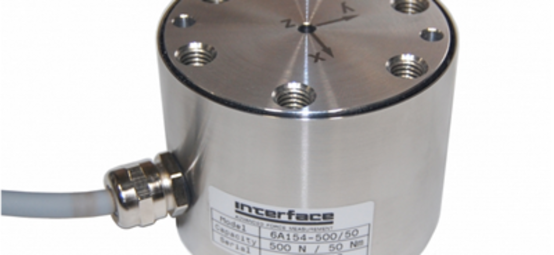Golden lotus-Interface Announces the New Model 6AXX Family of 6-Axis Load Cells