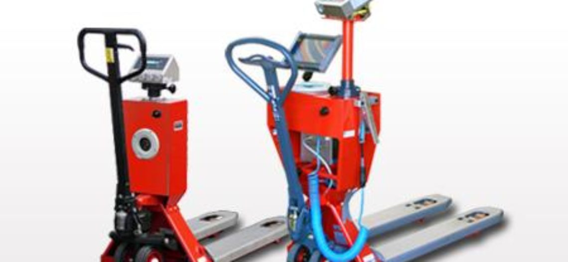 Golden lotus-RAVAS Proline-2100 EXi for Pallet Truck Scales now with Bluetooth connectivity
