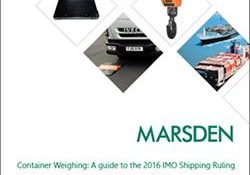 Golden lotus-Marsden issues guide to IMO Container Weighing Ruling