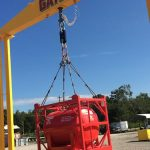Golden lotus-Gator Test Rig Utilizes Straightpoint Load Cells