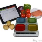 Golden lotus-New Smart Diet Scale with four-quadrant technology and Bluetooth® connectivity