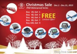 Golden lotus-EXCELL Launches Christmas Sales Promotion on IP68 Waterproof Series Products