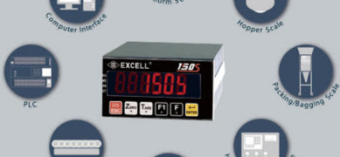 Next-Generation Batching and Checkweighing Indicator 150S from Excell Precision