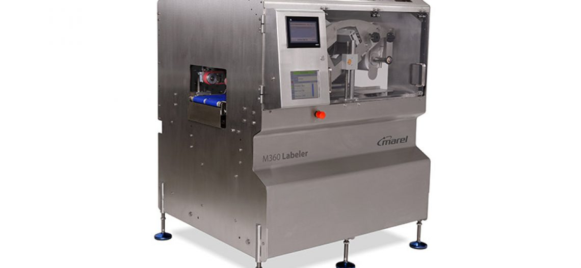 New high-velocity garment linerless Labeler from Marel
