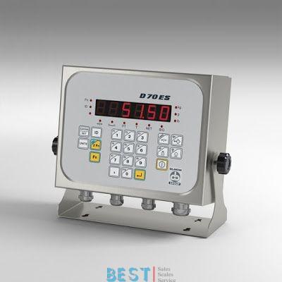 Coop. Bilanciai's New Terminal D70 ES Desk and Universal Mount Indicator/Controller