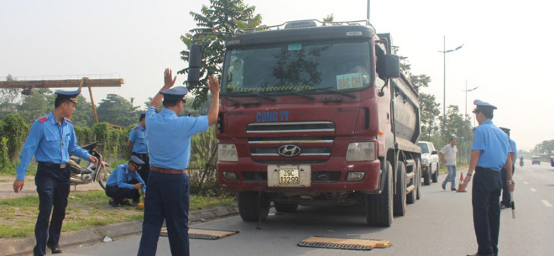 2019 Xử phạt hơn 1.300 xe chở quá tải